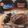 Mousse chocolat noir avec sauce au chocolat - Product