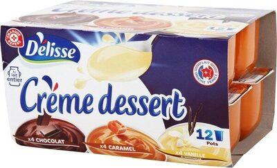 Crèmes dessert tri-parfums - Prodotto - fr