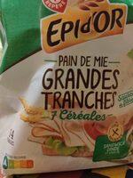 Pain de mie spécial sandwich aux 7 céréales - Product - fr