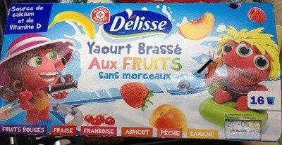 Yaourt brassé pulpe fruits - Product - fr