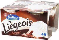 Liégeois chocolat x 4 - Product - fr