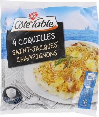 Coquilles Saint-Jacques à la crème fraîche - Product - fr