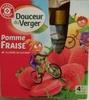 Pomme Fraise allégée en sucres - Product