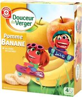 Compote gourde pom banane all 4*40g - Product - fr