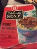 Porc au caramel et son riz thaï - Produit