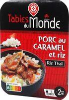 Porc au caramel et son riz thaï - Product - fr