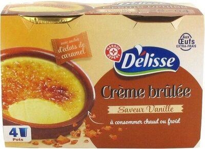Préparation pour crème brûlée - Product