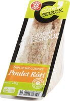 Sandwich club poulet rôti mayonnaise allégée - Product