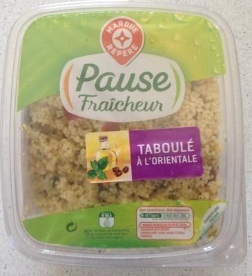 Taboulé à l'oriental - Product - fr