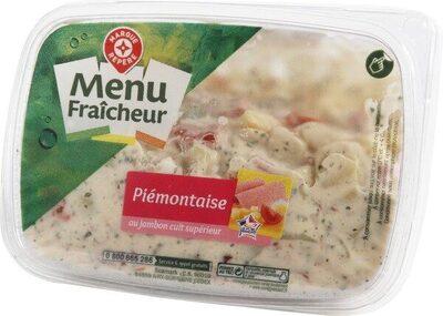Salade piémontaise au jambon supérieur - Produit