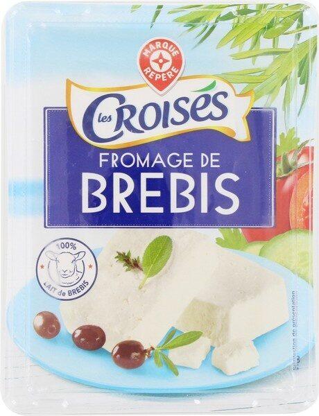 Fromage de brebis tranche 22% Mat. Gr. - Product - fr
