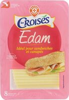 Edam tranchettes 23,9% MG - Product - fr
