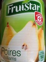 Poires williams sirop - Produit - fr
