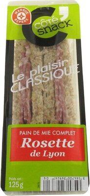 Sandwich à la rosette de Lyon - Produit - fr