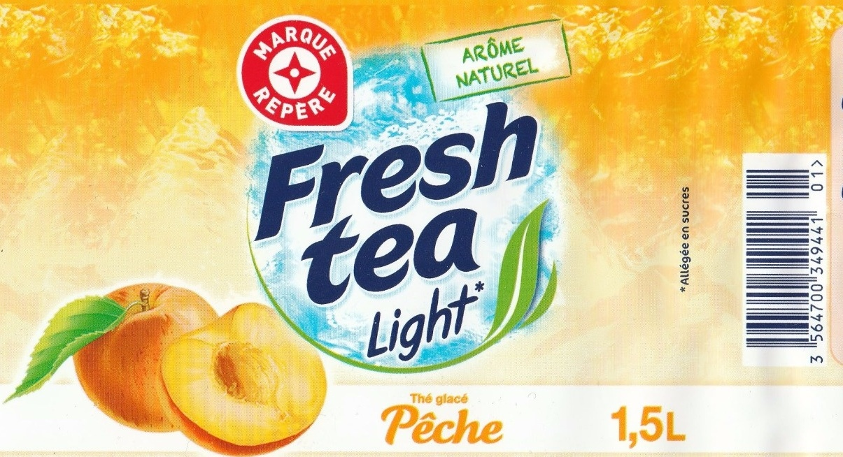 Thé à la pêche light - Produit - fr