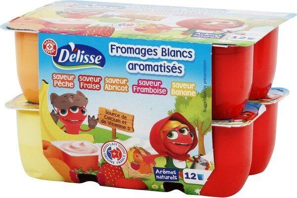 Fromages frais aux fruits Petits Delis - Produit - fr
