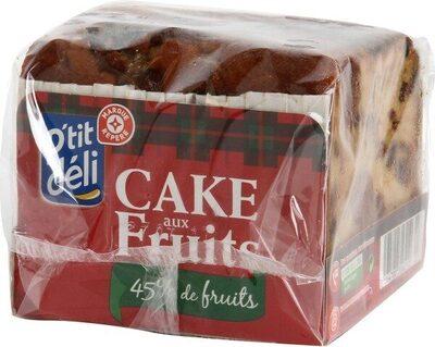 Cake aux fruits bloc 45% - Product