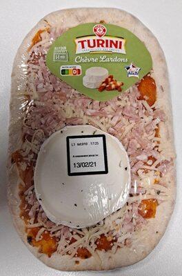 Pizza lardons et chèvre - Produit - fr