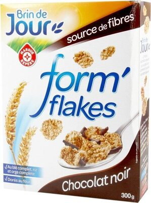 Forme flakes chocolat noir - Product - fr