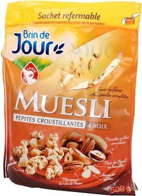 Muesli croustillant aux noix - Produit - fr