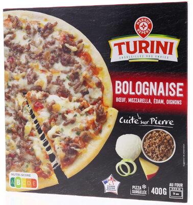 Pizza Cuite sur pierre Bolognaise - Produit - fr