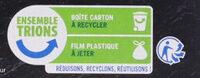 Pizza Cuite sur pierre Bolognaise - Instruction de recyclage et/ou informations d'emballage - fr