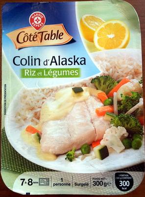 Colin d'Alaska Riz et Légumes, Surgelé - Product