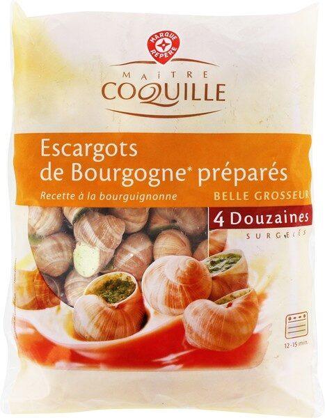 Escargots belle grosseur x48 surgelés - Produit - fr