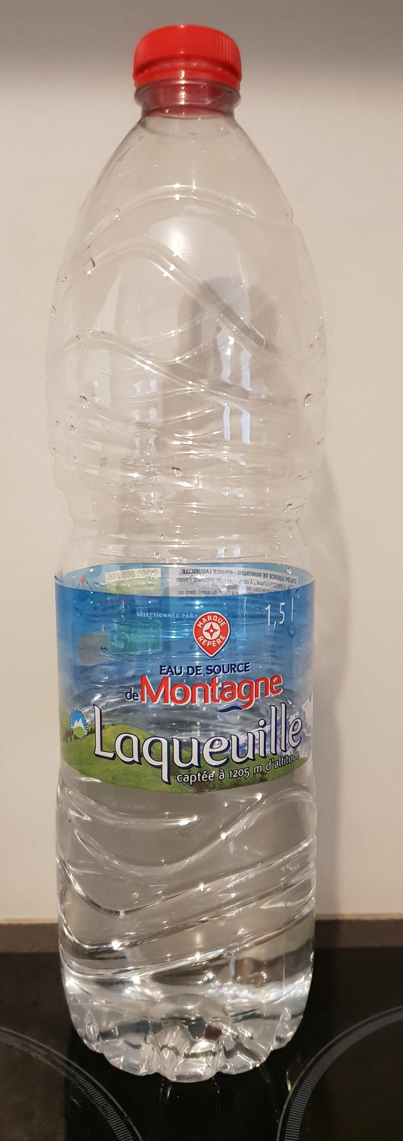 Eau de source de montagne Laqueuille - Produit - fr