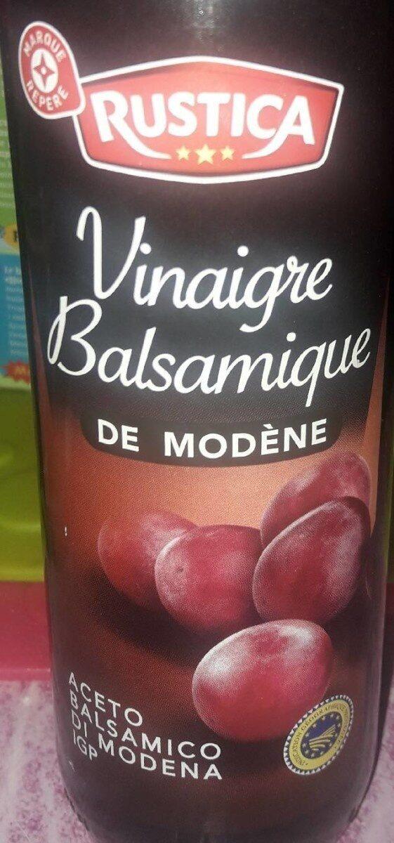 Vinaigre balsamique de modene - Produit - fr