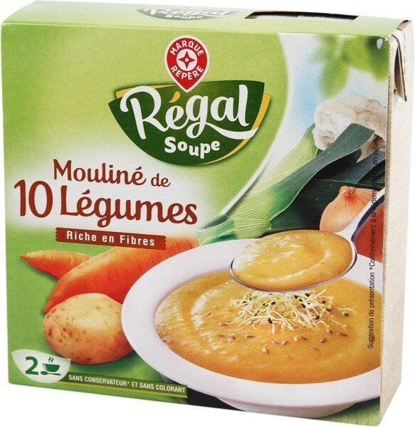 Mouliné de légumes variés - Produit - fr