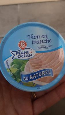 Thon naturel albacore en tranche - Produit - fr