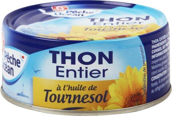 Thon entier à l'huile de tournesol - Product - fr