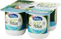 Lait fermenté Actifidus saveur noix de coco - Producto