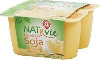 Spécialité au soja saveur vanille - Produit - fr