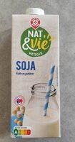 Boisson au soja nature brique - Produit - fr