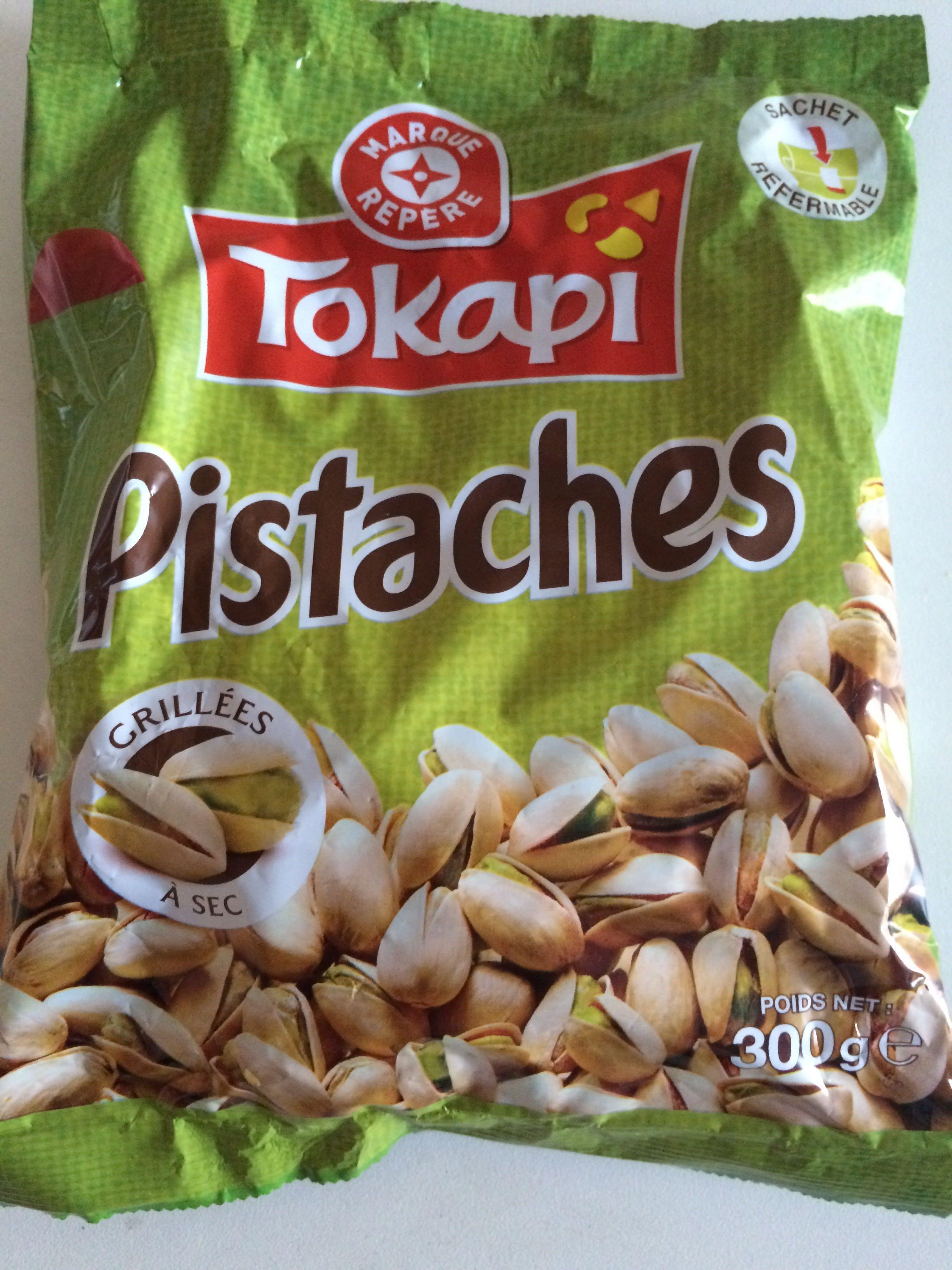 Pistaches grill es sec tokapi 300 g - Calories pistaches grillees ...