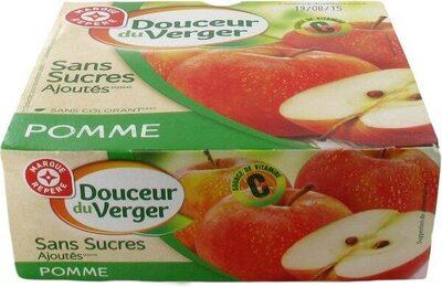 Desserts de fruits pomme sans sucres ajoutés - Product