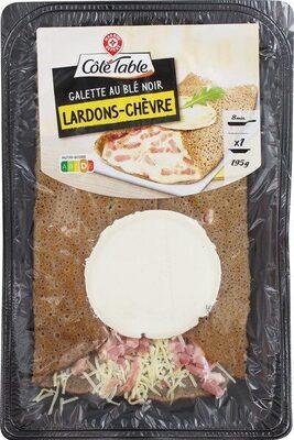 Galette chèvre lardons au blé noir - Product - fr