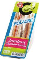 Sandwich polaire jambon-cheddar - Product