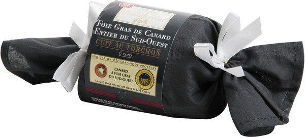 Foie gras de canard au torchon - Product - fr