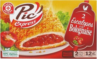 Escalopes bolognaise x 2 - Product - fr