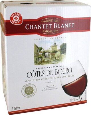 Côtes de Bourg A.O.C. - Bag-in-Box® - Product
