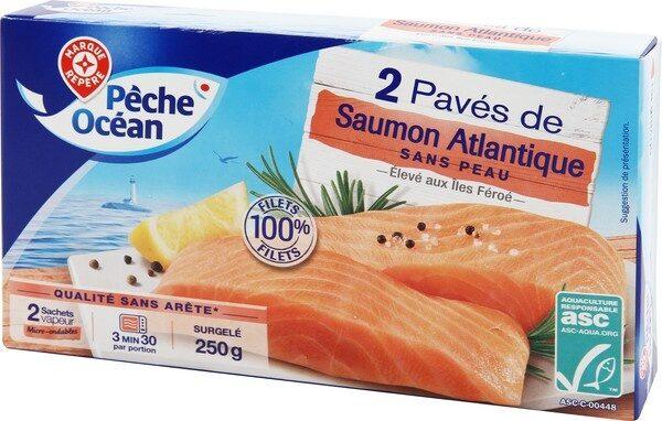 Paves de saumons x2 asc 250g surg - Produit