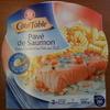 Pavé de Saumon, Sauce à l'oseille et ses Pâtes aux Œufs - Product