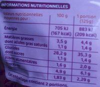 Riz cantonais doypack - Informations nutritionnelles - fr