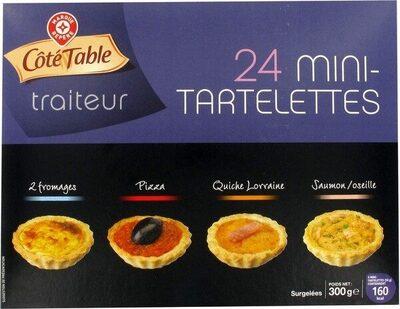 Mini-tartelettes apéritifs x 24 - Produit