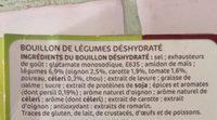 Bouillon à cuisiner déshydraté 12 tablettes de 10 g - Ingredienti - fr