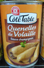 Quenelles de volaille sauce champignon - Product