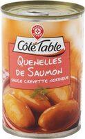 Quenelles de saumon sauce aux crevettes - Product - fr
